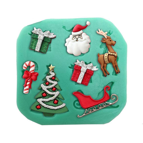 Silicone Mould - Christmas