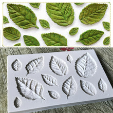 Load image into Gallery viewer, Silicone Mould - Leaves