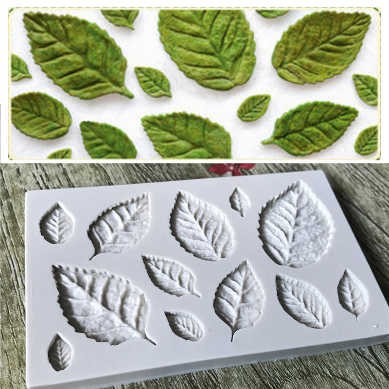 Silicone Mould - Leaves