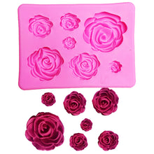 Load image into Gallery viewer, Silicone Mould - Roses