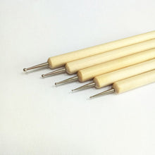 Load image into Gallery viewer, Set of 5 Ball Stylus Pottery Sculpture Tools