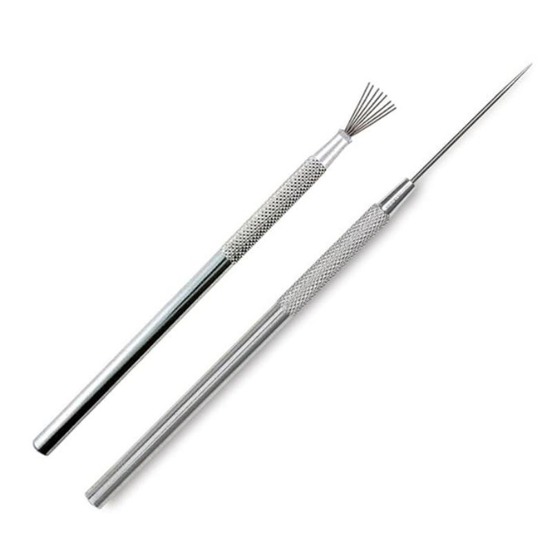 Set of 2 - Wire Texture Brush and Needle Tool