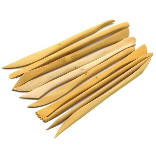 Set of 10 Wood Sculpting Tools