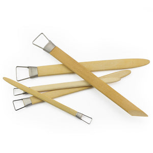 Set of 5 Bamboo Loop Trimming Tools