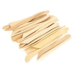 Set of 38 Wood Clay Sculpting Knives