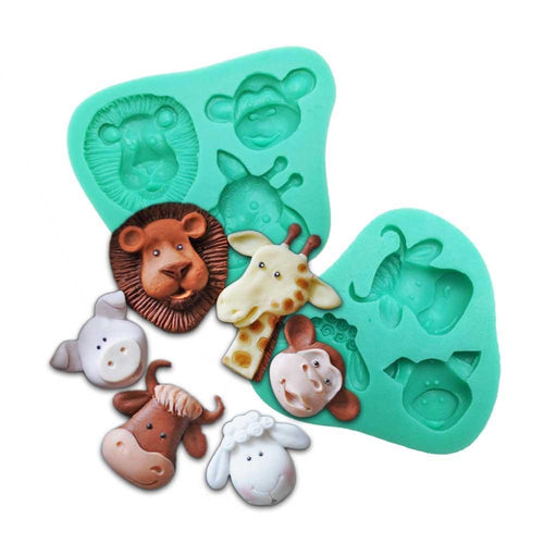 Silicone Mould - Animals (2 Styles)