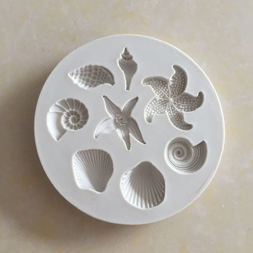 Silicone Mould - Seashells