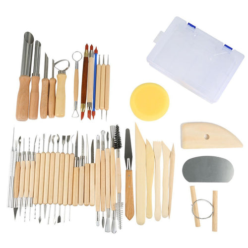 Set of 45 Pottery Tools Starter Kit