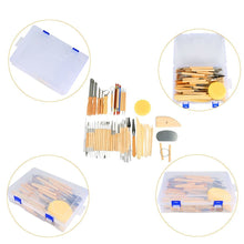 Load image into Gallery viewer, Set of 45 Pottery Tools Starter Kit