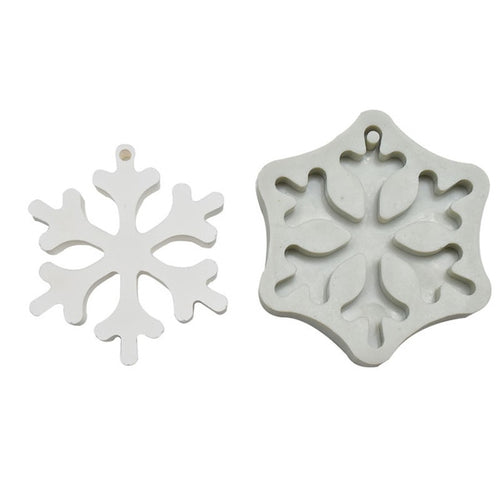 Silicone Mould - Snowflake Ornaments (2 Styles)