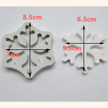 Load image into Gallery viewer, Silicone Mould - Snowflake Ornaments (2 Styles)