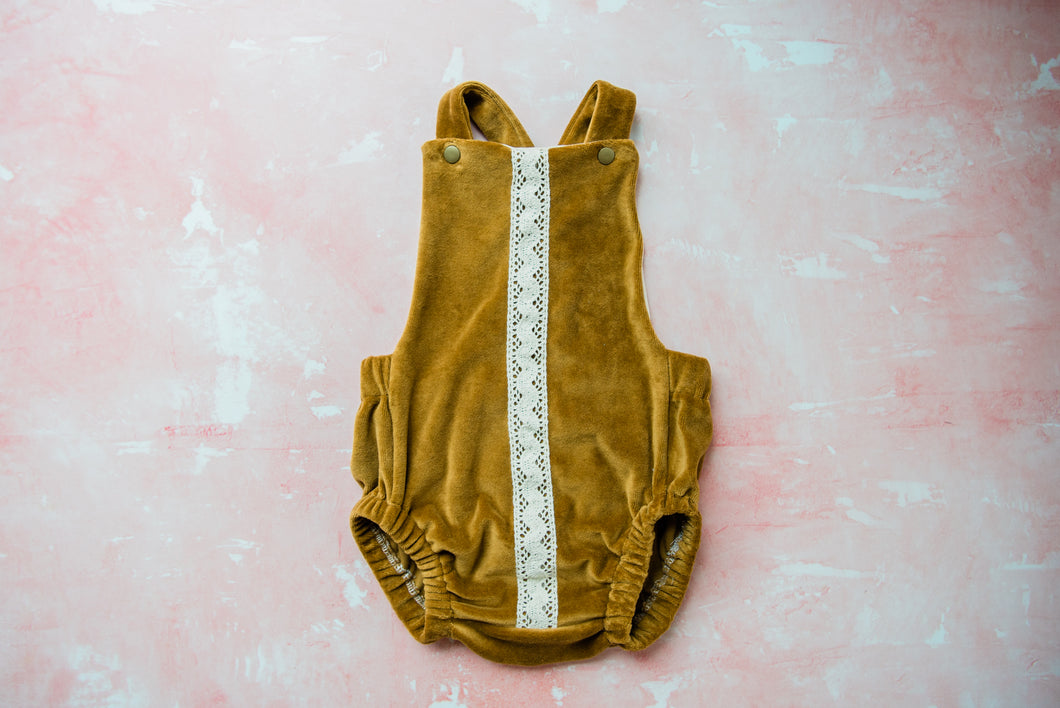 Velour Romper (+ Colors)