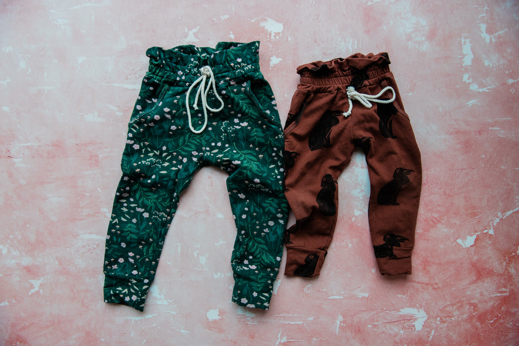 Paperbag Joggers (+ Colors)