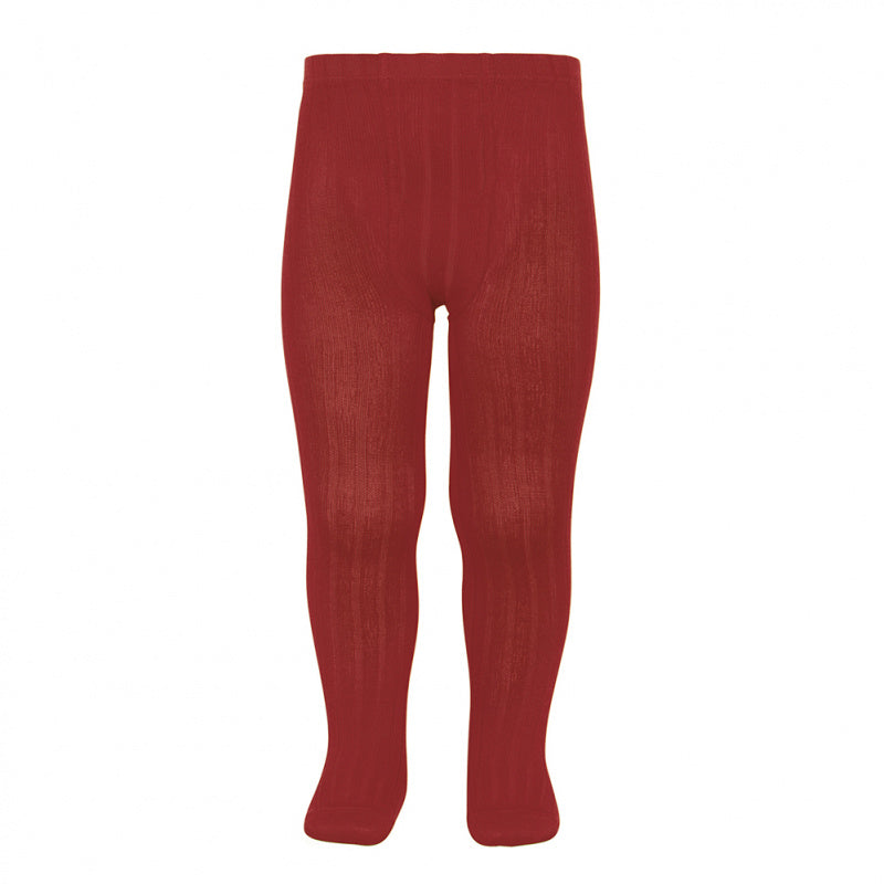 Wide Rib Tights - Ruby