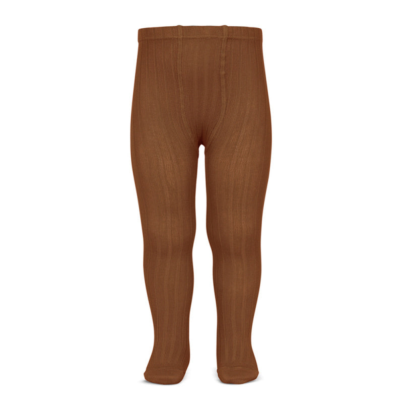Wide Rib Tights - Rust