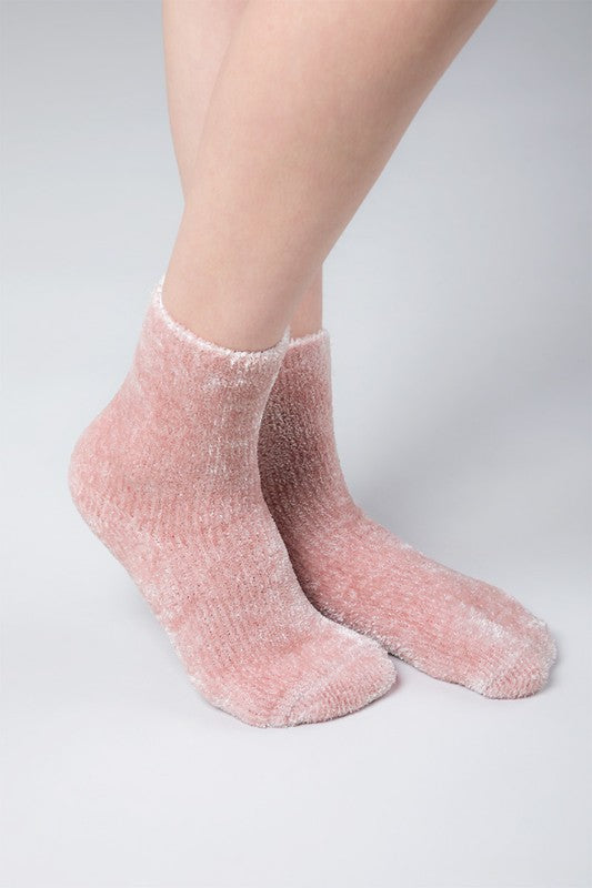 Plush Chenille Socks