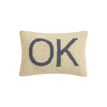 Oklahoma OK Hook Pillow