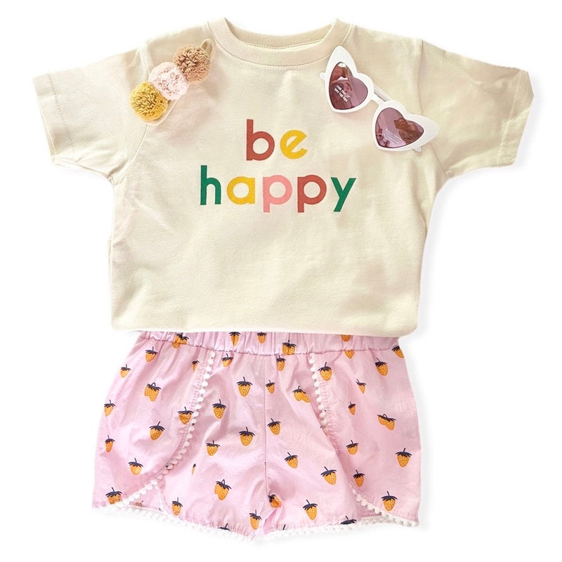 """Berry Cute"" Organic Bodysuit"