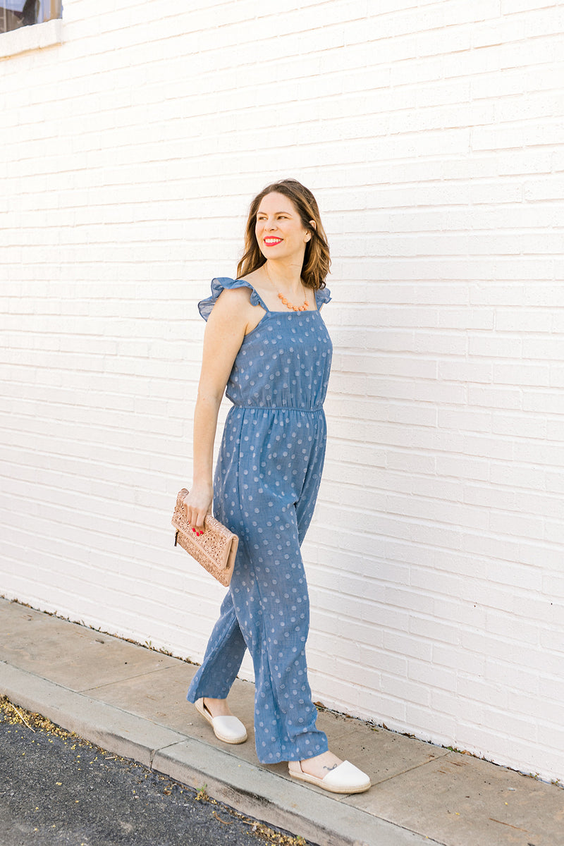 Swiss Dot Jumpsuit