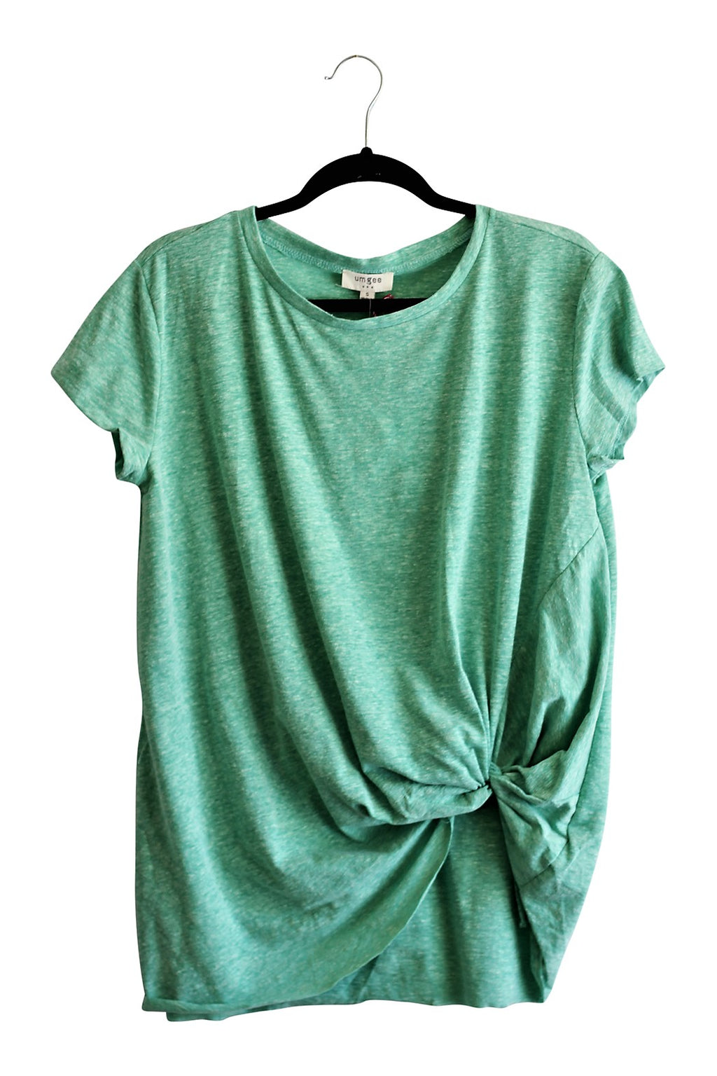 Basic Gathered Hem Top