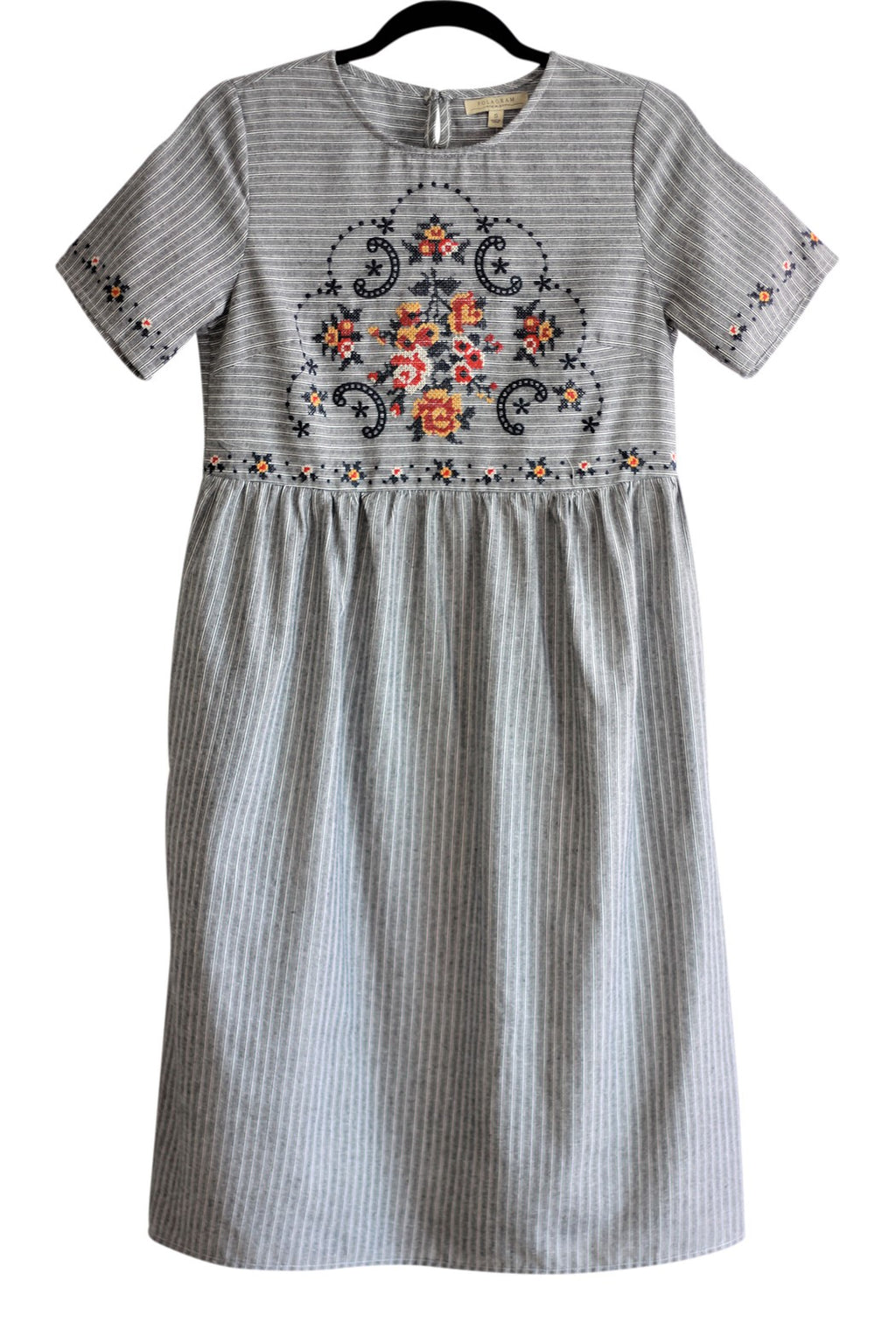 Embroidery Detail Dress