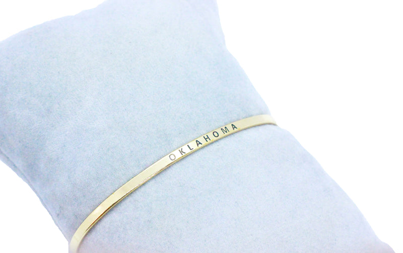 Oklahoma Bangle