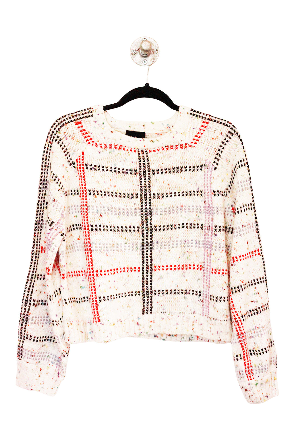 Confetti Grid Sweater