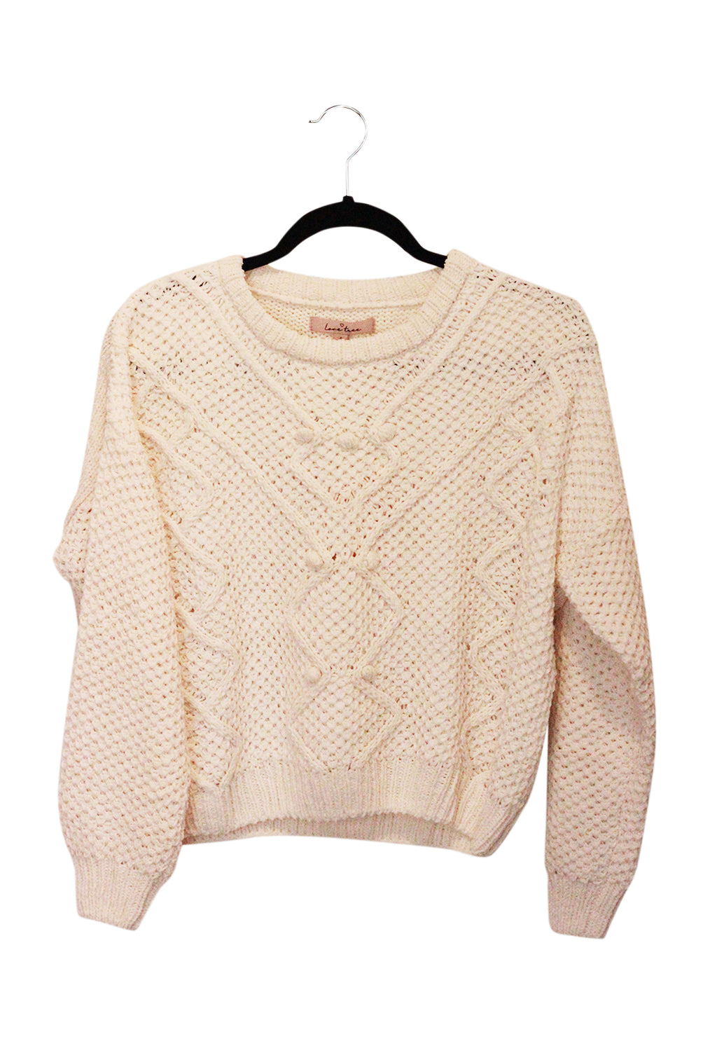 Chunky Cable Knit Pullover