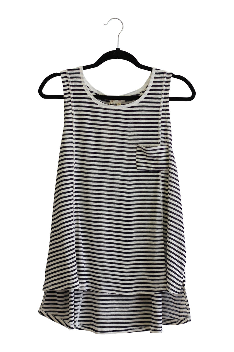 Striped Color Block Tank