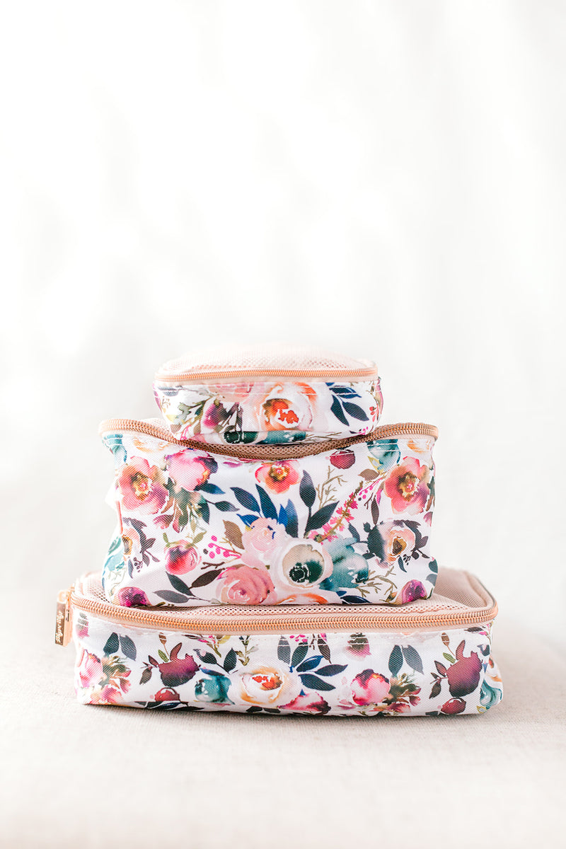 Floral Packing Cube