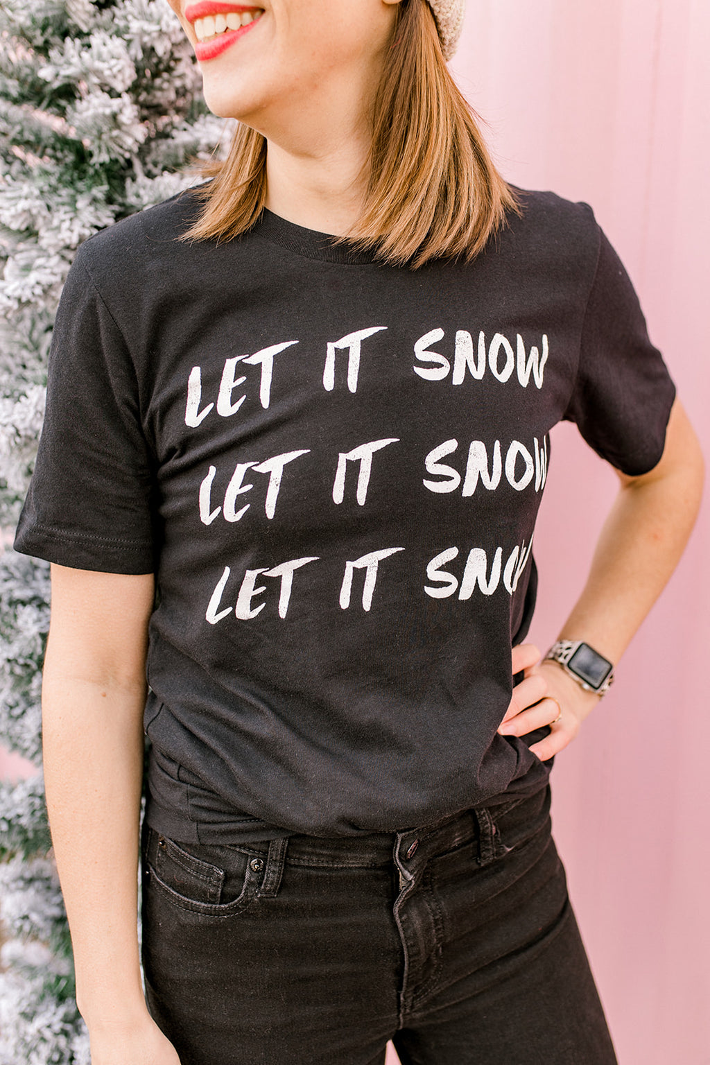 Let is Snow Tee