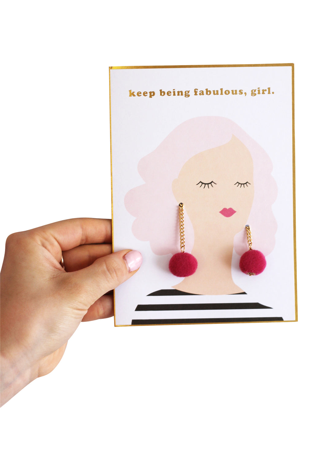 Giftable Jewelry Card {Earrings}