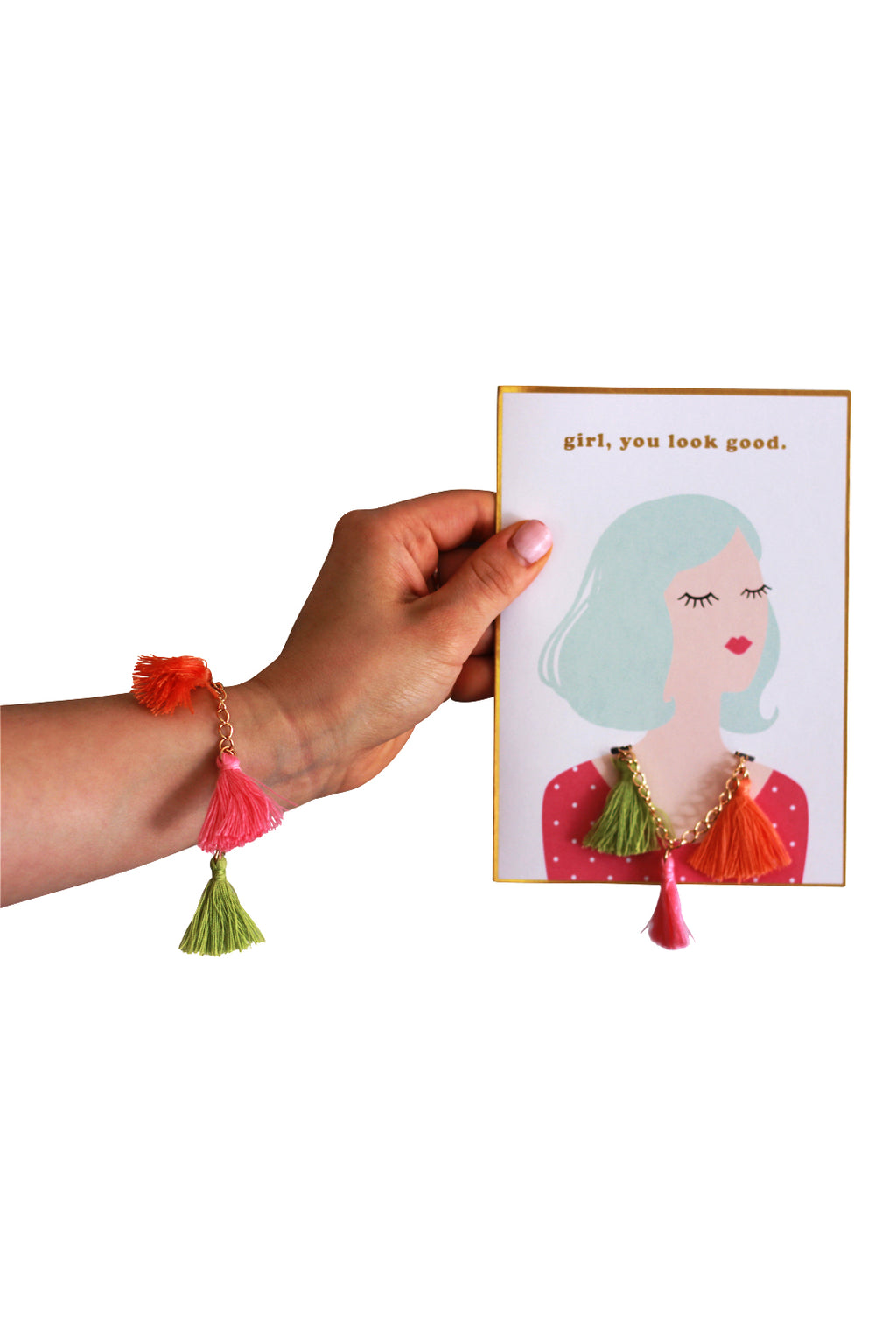 Giftable Jewelry Card {Bracelet}