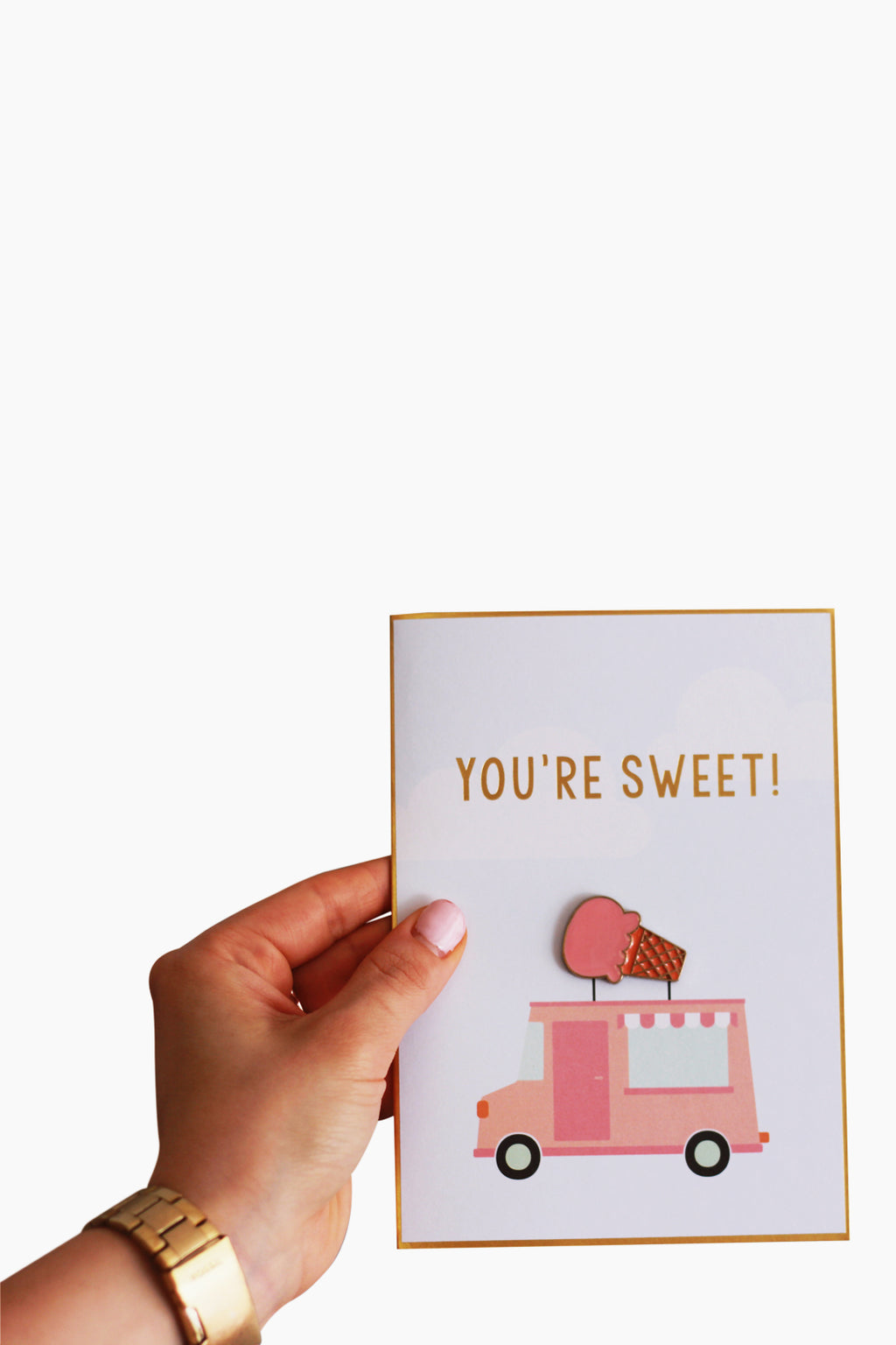 Giftable Pin Card