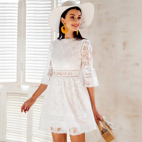 Federica Lace Dress