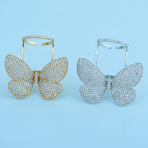 Moving Butterfly Ring