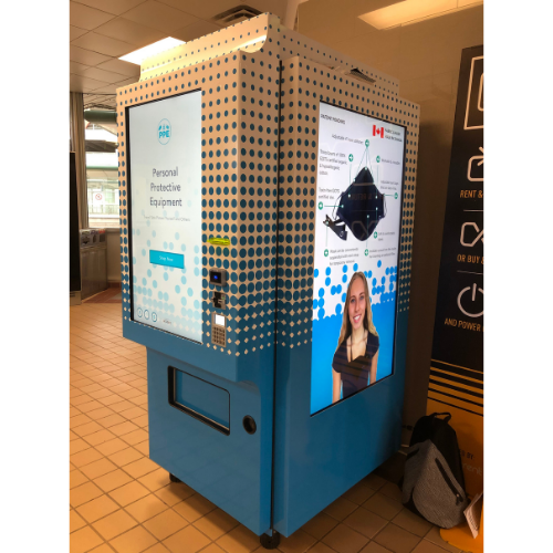 VetMed Solutions Launches Masks with Metrolinx Vending Machines