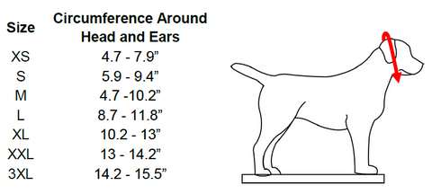 adjustable muzzle size chart