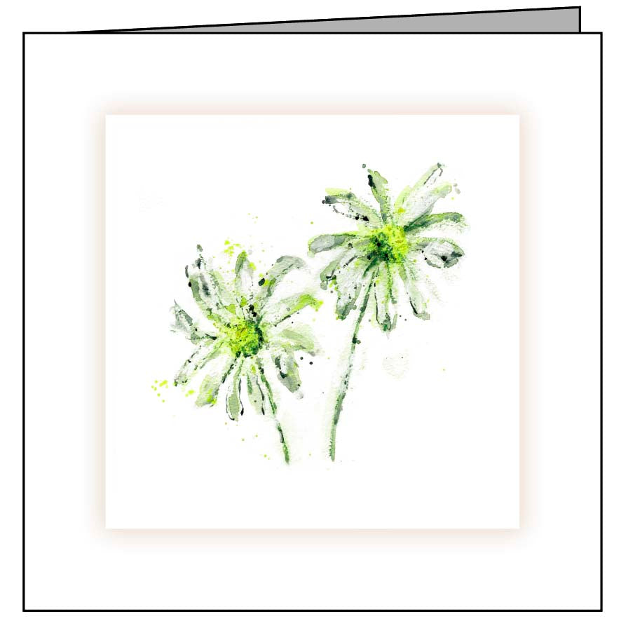 Animal Hospital Sympathy Card - Daisies