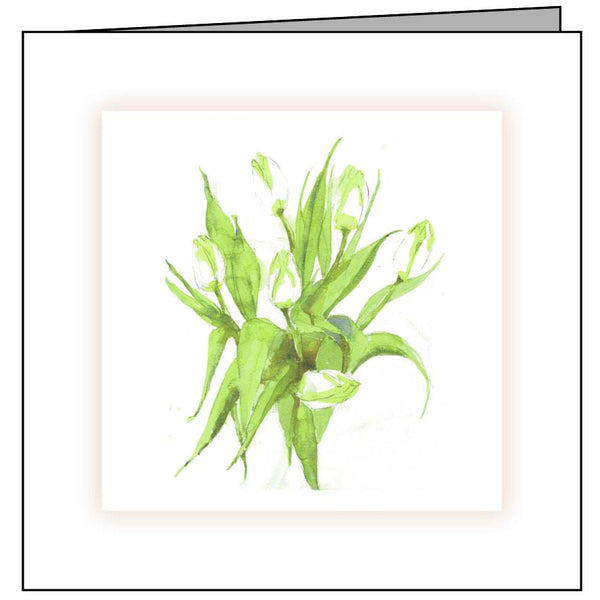 Animal Hospital Sympathy Card - Tulips