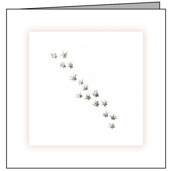 Animal Hospital Sympathy Card - Rodent Paws