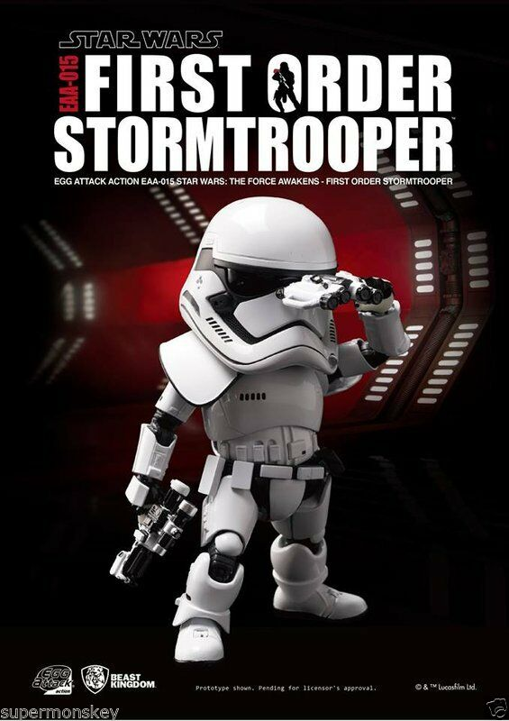 STAR WARS EAA-015 Action Figure-First Order Stom Trooper (Brand New)