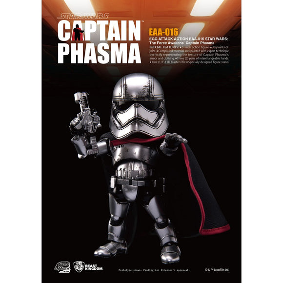STAR WARS EAA-016 Action Figure-Captian Phasma (Brand New)