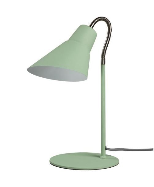 Wild & Wolf - Wild Wood Gooseneck Lamp / Swedish Green (Brand New, box dented)