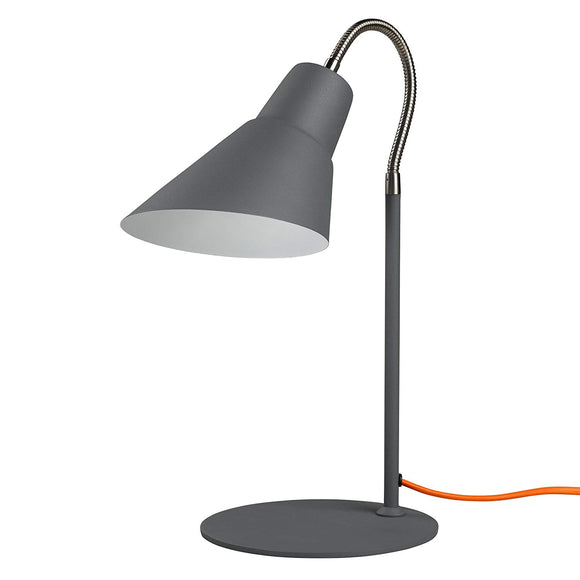 Wild & Wolf - Wild Wood Gooseneck Lamp-Concrete Grey (Brand new, box dented)