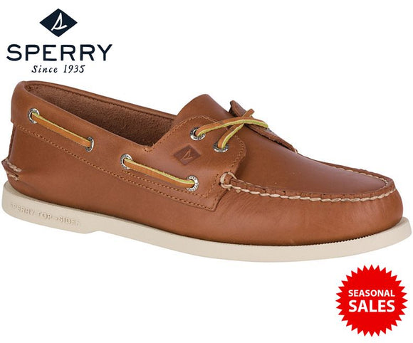 Sperry Men's Authentic Original 2-Eye Boat Shoes (Brand New | Colour: Tan | Model No: 0532002)