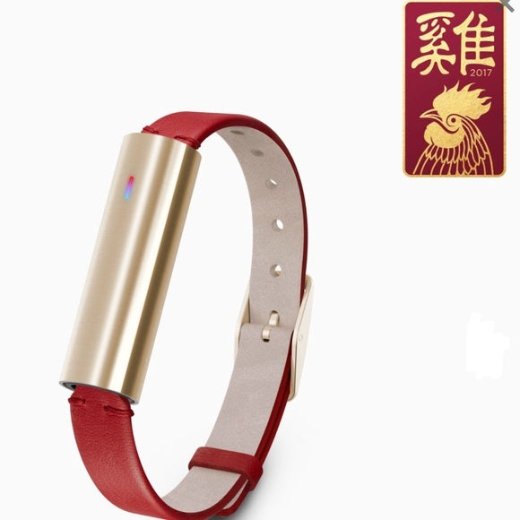 Misfit Wearables MIS1008 Fitness Tracker for Universal/Smartphones - Red (Brand New with seal)