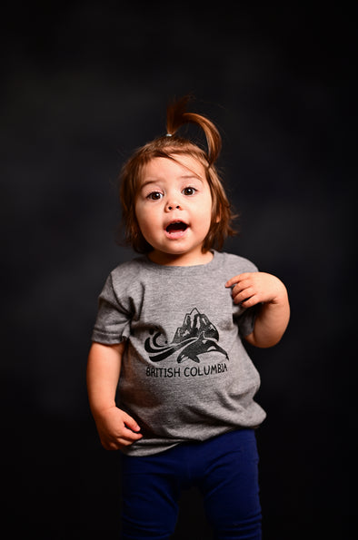 Little Kids British Columbia Tee