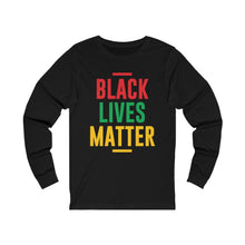 Load image into Gallery viewer, BLM Colors Unisex Long Sleeve Tee