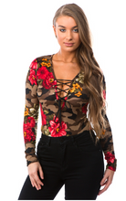 Load image into Gallery viewer, Floral Camo Bodysuit